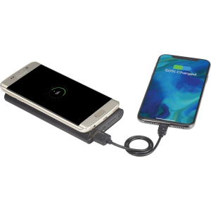 Glisten Light Up Wireless Powerbank/ 2-in-1 Cable