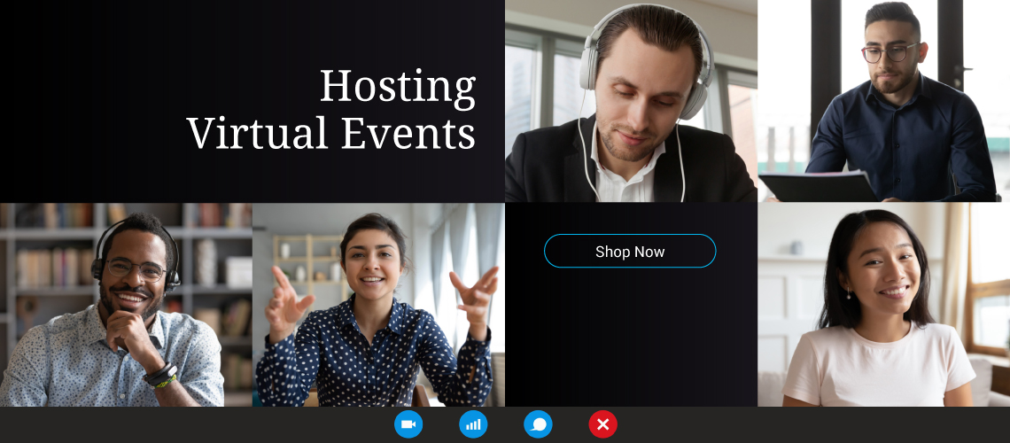 Hosting Virtual Events