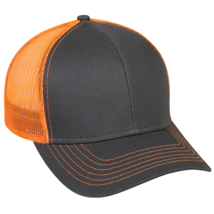 Embroidered Cap with Plastic Snap Closure