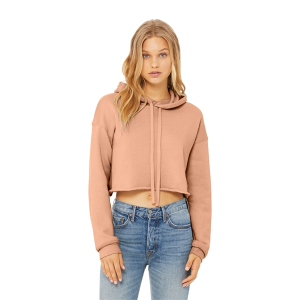 BELLA+CANVAS® Women's Sponge Fleece Cropped Hoodie