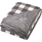 Field & Co.® Double Sided Plaid Sherpa Blanket